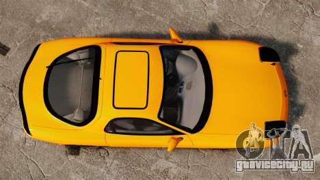 Mazda RX-7 FD3S для GTA 4 вид справа