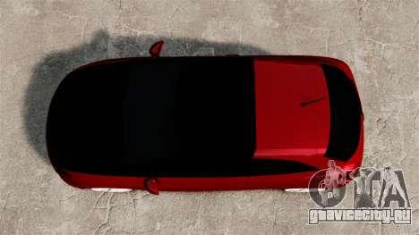 SEAT Ibiza для GTA 4 вид справа