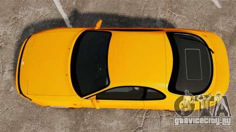 Toyota Celica ST185 GT4 для GTA 4 вид справа