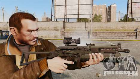Пистолет-пулемёт ПП-19 Бизон для GTA 4