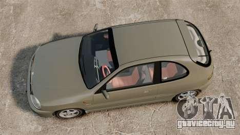 Daewoo Lanos Sport PL 2000 для GTA 4 вид справа