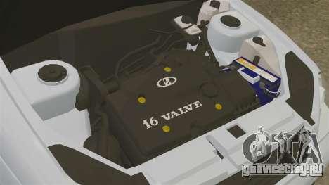 ВАЗ-2172 Приора для GTA 4 вид изнутри