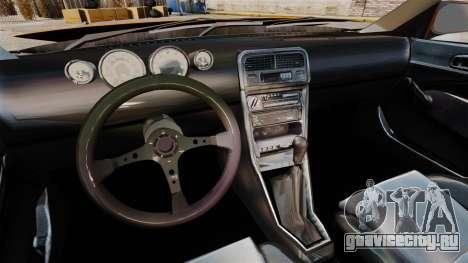 Honda Civic Gtaciyiz 2 для GTA 4 вид сзади