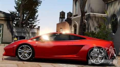 Lamborghini Gallardo LP560-4 [Final] v1 для GTA 4 вид слева