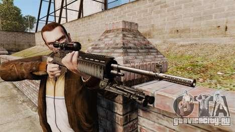Снайперская винтовка M21 v2 для GTA 4 третий скриншот