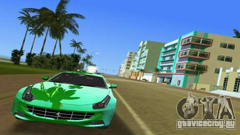 Ferrari FF 2011 для GTA Vice City