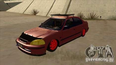 Honda Civic V2 BKModifiye для GTA San Andreas