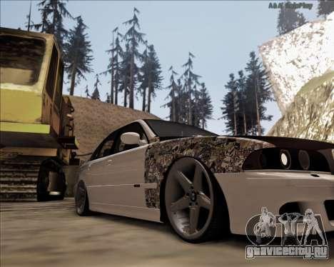 BMW M5 E39 Stanced для GTA San Andreas вид слева