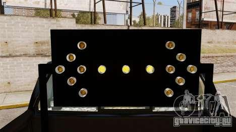 Ford F-150 De La Policia Federal [ELS & EPM] v2 для GTA 4 вид сзади