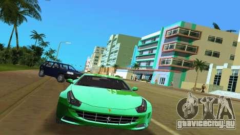 Ferrari FF 2011 для GTA Vice City вид сзади слева
