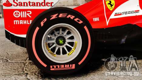 Ferrari F138 2013 v6 для GTA 4 вид сзади