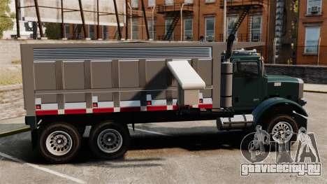 Новый грузовик Biff для GTA 4 вид слева