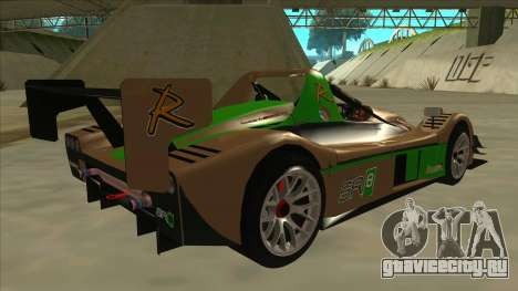 Radical SR8 RX для GTA San Andreas вид справа