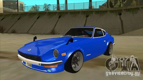 Nissan Wangan Midnight Devil Z S30 для GTA San Andreas