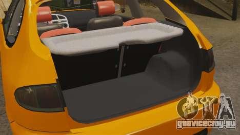 Daewoo Lanos Sport US 2001 для GTA 4 вид сбоку