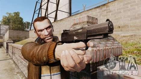 Самозарядный пистолет FN Five-seveN v2 для GTA 4 третий скриншот
