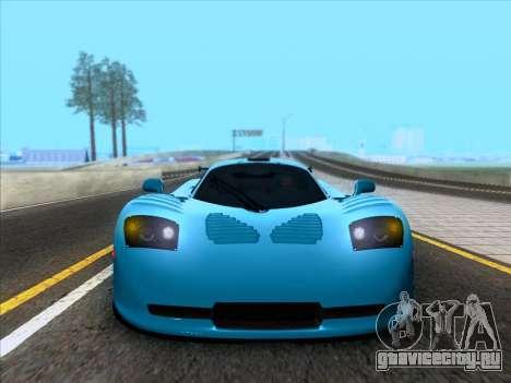Mosler MT900S 2010 V1.0 для GTA San Andreas вид сзади