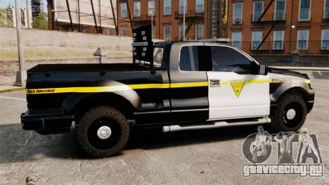 Ford F-150 v3.3 State Trooper [ELS & EPM] v1 для GTA 4 вид слева