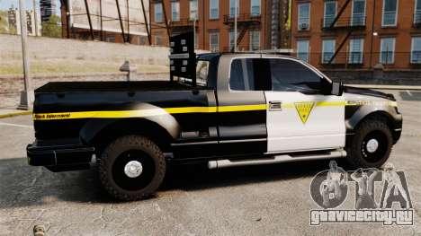 Ford F-150 v3.3 State Trooper [ELS & EPM] v1 для GTA 4 вид слева