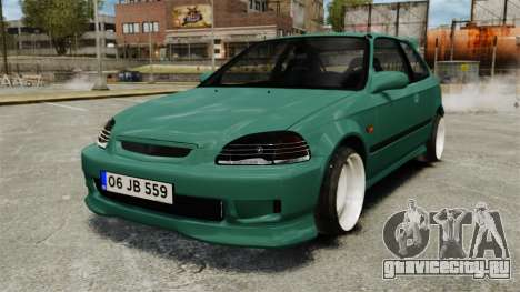 Honda Civic Al Sana для GTA 4