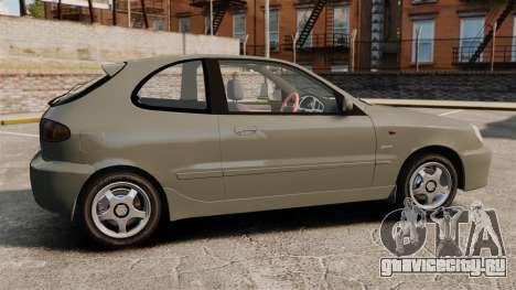 Daewoo Lanos Sport PL 2000 для GTA 4 вид слева