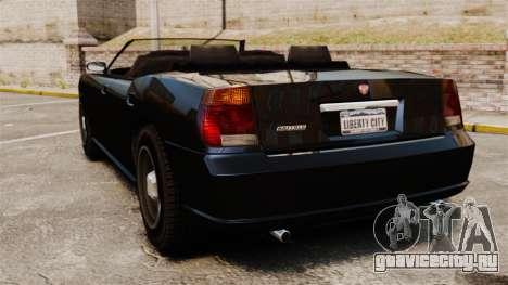 Buffalo кабриолет для GTA 4 вид сзади слева