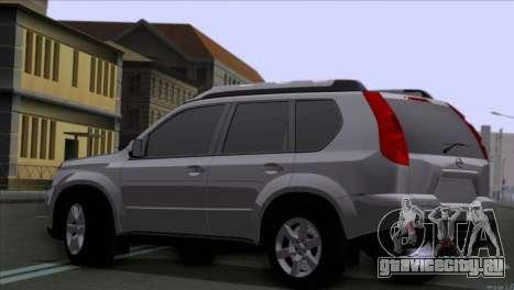 Nissan X-Trail 2007 для GTA San Andreas вид слева