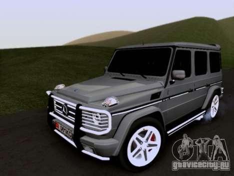 Mercedes-Benz G55 AMG для GTA San Andreas вид сбоку