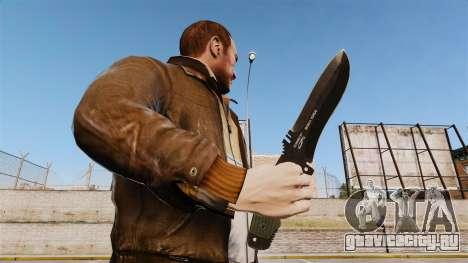 Тактический нож v3 для GTA 4