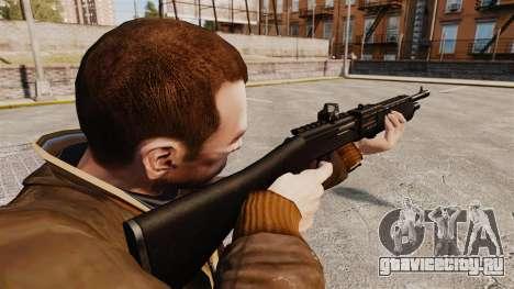 Автоматическое тактическое ружьё SPAS 12 для GTA 4 второй скриншот