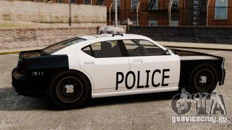 Полицейский Buffalo LAPD v1 для GTA 4 вид слева