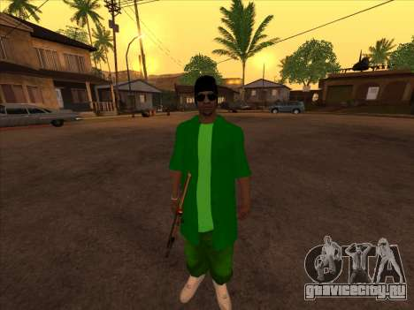 Новый скин Groove st. для GTA San Andreas третий скриншот