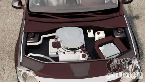 Dacia Logan 2008 v2.0 для GTA 4 вид изнутри