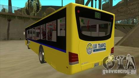 Bus Line 88 Novi Zeleznik для GTA San Andreas вид сзади