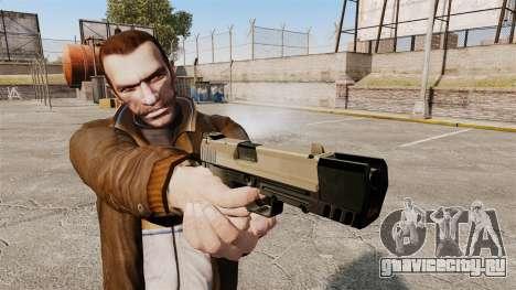 Самозарядный пистолет H&K USP v3 для GTA 4 третий скриншот
