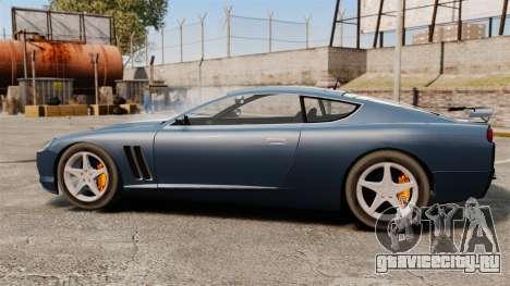 Обновлённый Super GT для GTA 4 вид слева