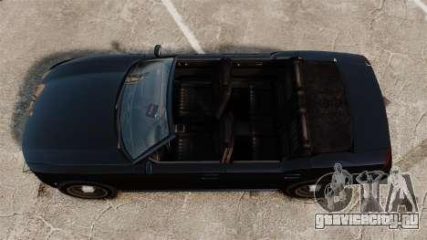 Buffalo кабриолет для GTA 4 вид справа