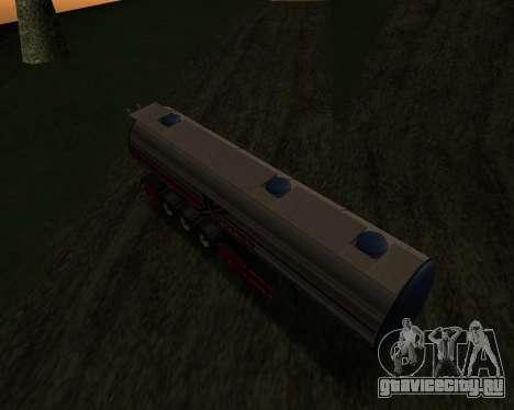 Полуприцеп Бочка Xoomer для GTA San Andreas вид справа