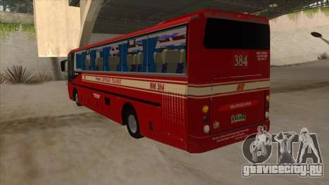 Bagong Lipunan Transit BM 384 для GTA San Andreas вид сзади