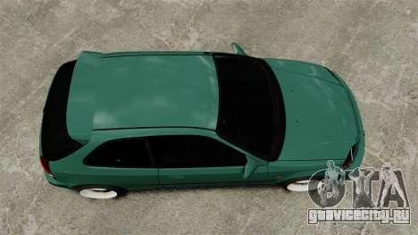 Honda Civic Al Sana для GTA 4 вид справа