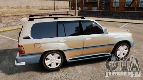Toyota Land Cruiser 100 для GTA 4