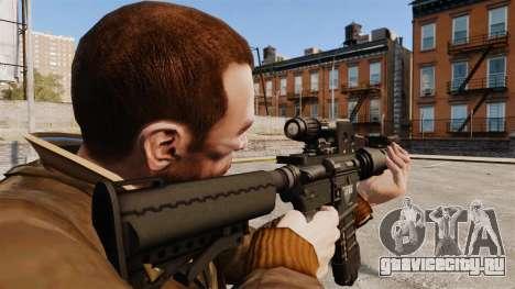 Тактическая M4 v2 для GTA 4 второй скриншот