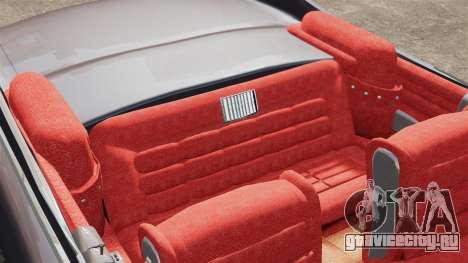 Cadillac Eldorado 1959 v1 для GTA 4 вид изнутри