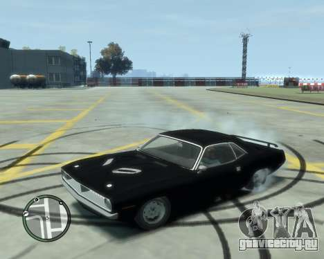Plymouth Barracuda 1970 для GTA 4