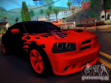 Dodge Charger SRT-8 Tuning для GTA San Andreas