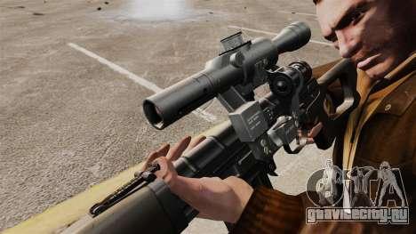 Снайперская винтовка Драгунова v1 для GTA 4 четвёртый скриншот