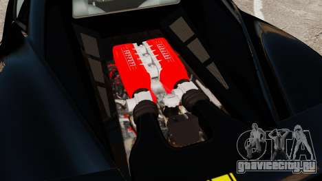 Ferrari 458 Italia 2010 Wheelsandmore 2013 для GTA 4 вид справа