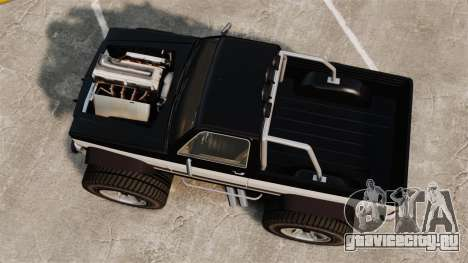 Monster Truck для GTA 4 вид справа