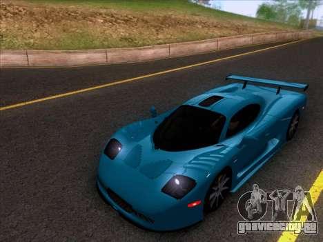 Mosler MT900S 2010 V1.0 для GTA San Andreas вид слева