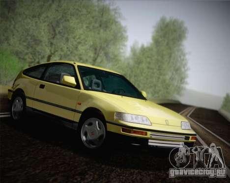 Honda CR-X 1991 для GTA San Andreas вид справа